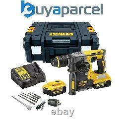 Dewalt Dch273m2 18v Xr Sds+ Hammer Drill Rotatif Sans Brosse + 2 X 4.0ah + Chuck