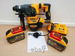 Dewalt Dch333x2 54v Flexvolt Sds Plus Hammer Drill 9 Ah In Ds300 Toughcase