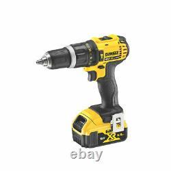 Dewalt Sans Fil Combi-hammer Perceuse Brossée 2x5ah Li-lon Xr Batteries & Chargeur