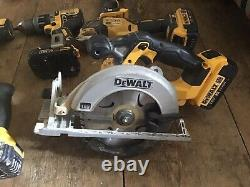 Dewalt Sds Rotary Hammer Drill Combi Set Jigsaw Saw Grinder Circulaire Multi Outil