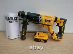 Dewalt Xr 18v Dch263 3 Joule 28mm Sds Hammer Drill Bare Unit + 1 X 5ah Batterie