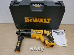 Dewalt Xr 18v Dch263 3 Mode 28mm 3 Joule Sds Hammer Drill Bare Unit + Boîtier