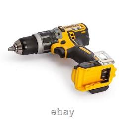 Dewalt Xr Dcd796 18v Li-ion Brushless Cordless Combi Hammer Drill Driver, Nu