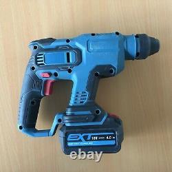 Erbauer Erh18-li 18v Li-ion Ext Kit De Forage Sans Fil Sans Brosse Sds Plus Hammer