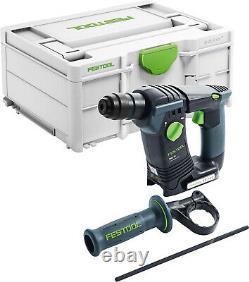Festool Akku-bohrhammer Bhc 18 Basic 576511 + Gratis Akku Bp 18 LI 4,0 Hpc