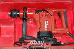 Hilti Te-54 Bohr & Meißelhammer IM Koffer+ 2 X Meißel + Garantie+rechnung