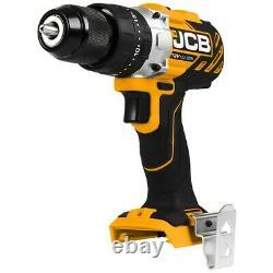 Jcb 18blcd-2-b 18v Sans Pinceau Combi Hammer Perceuse Métal Chuck 2x 2.0ah Batterie