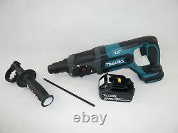 Makita 18v Dhr241 Akku-bohrhammer Soligerät + 1x3ah Bl1830 Li-ion Akku Bhr 241 Z