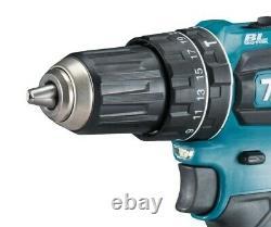 Makita 18v Dlx2283 Kit Brushless Dhp485 Hammer Drilling Dtd153 Barre De Conducteur D'impact
