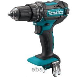 Makita Combo Kit Hammer Drilling/impact Driver/recip-circ Sawithlumière De Travail (5-outil)