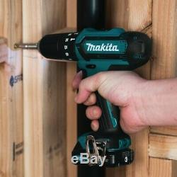 Makita Cxt Twin Pack Hp331 Combi Marteau Drill + Tm30 Multi Tool + Accès