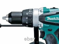 Makita Dhp458z 18v Lxt Li-ion 2 Speed Combi Hammer Drill Bare Naked Body Only