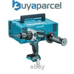 Makita Dhp481z 18v Lxt Lithium-ion Combi Hammer Drill + Makpac Case Bare Unit