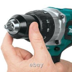 Makita Dhp481z 18v Lxt Sans Brosse Lithium-ion Combi Hammer Drill Bare Unit