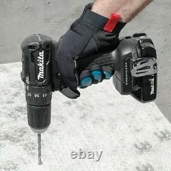 Makita Dhp483zb 18v Black Brushless Compact Combi Hammer Perceuse Dhp483z + Makpac