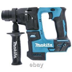 Makita Dhr171z 18v Li-ion Sans Fil Sds + Rotatif Hammer Drill Body Only