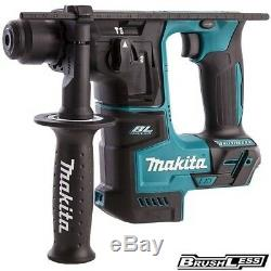 Makita Dhr171z 18v Lxt Sans Fil Brushless 17mm Sds Plus Rotary Body Hammer Uniquement