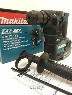 Makita Dhr171z 18v Lxt Sds Plus Marteau Rotatif Sans Brosse 17mm 1 X 4ah Bl1840b