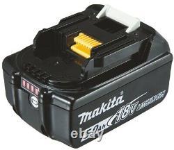 Makita Dhr171z Akku-bohrhammer 18 V Sds-plus Avec Makita Bl1850b Akku
