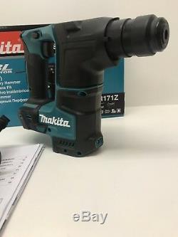 Makita Dhr171z De Lxt Plus Brushless Sds Rotary Marteau De 17mm Boîtier Nu