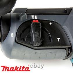 Makita Dhr202 18v Sds Plus Lxt Rotary Marteau Perforateur Avec Étui Et 4pc Set Chisel