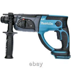 Makita Dhr202z 18v Lxt Sans Fil Sds+ Hammer Drill Corps Nu Seulement