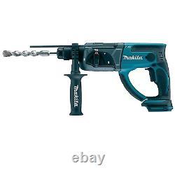 Makita Dhr202z 18v Sds Plus Lxt Hammer Drill Unité Nue