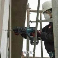 Makita Dhr202z Lxt 18v Sds Hammer Drill 3 Fonction + 5 X Bits Chisel + Chuck