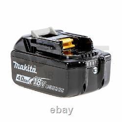 Makita Dhr242rmj 18v Sans Fil Sans Brosse Sds+ Forage À Marteau Rotatif 2 X Bl1840b