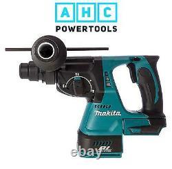 Makita Dhr242z 18v Sans Fil Sans Fil Sds Plus Brushless Hammer Drilling Body Uniquement