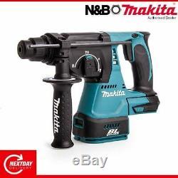 Makita Dhr242z De Sds + Plus Brushless Rotatif Sans Fil Marteau Drill Boîtier Nu