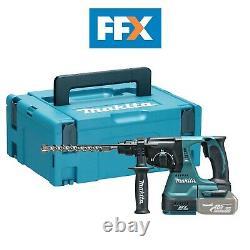 Makita Dhr242zj 18v Sds Plus Broyage Rotatif Hammer Drill Bare Unit Makpac Kit