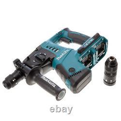 Makita Dhr264zj Twin 18v Li-ion Sds Plus Rotatif Hammer Drill Makpac Type 4 Cas