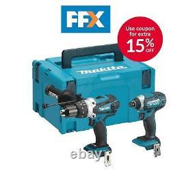 Makita Dlx2145z 18v Hammer Drilling And Impact Driver Bare Unit Combo