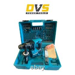 Makita Hr166dz 10.8v Cxt Brushless Sds+ Hammer Drill With Accessories & Carry Case