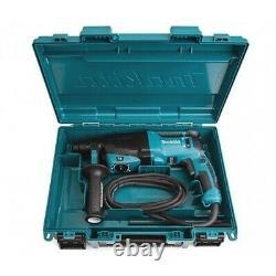 Makita Hr2630 240v Sds + 3 Mode Rotatif Hammer Drill Heavy Duty Comprend Cas