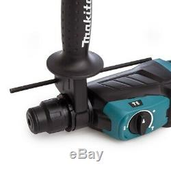 Makita Hr2630 240v Sds Plus 3 Mode Rotatif Marteau Perforateur Sds + Bits Chisel + Chuck