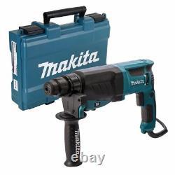 Makita Hr2630 Sds+ Perceuse Rotative Marteau 3 Mode 26mm 240v