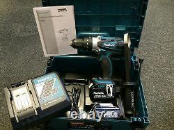 Makita Lxt Dhp458rfej De Combi Marteau Perforateur 2 X 3,0 Ah Batteries Li-ion