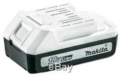 Makita Sans Fil De Combi Marteau Perforateur Et D'impact Pilote Twin Pack + 74 Set Pièce