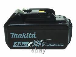 Makita Xph07z 18v 1/2 Po. Perceuse De Conducteur De Marteau Avec La Batterie Bl1840b 18v 4.0ah