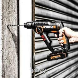 Marteau Rotatif Worx Wx390 18v (20v Max) 3-en-1 H3