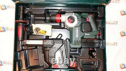 Metabo Kha 18ltx Bl24 Quick Set Isa Rotary Hammer With Dust Collection 600211900