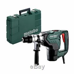 Metabo Sds-max Bohrhammer Meisselhammer Kh 5-40 1100 W IM Kunststoffkoffer