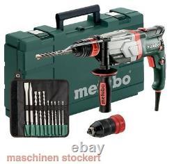 Metabo Uhev 2860-2 Encre Multihammer Rapide. 10-tlg. Bohr- Und Meißelset 600713510