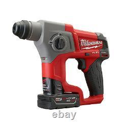 Milwaukee 2416-22xc M12 Fuel 5/8 Sds Plus Kit De Marteau Rotatif
