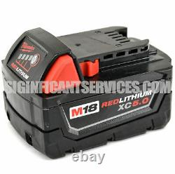 Milwaukee 2715-20 M18 Fuel 1-1/8 Li-ion Sds Rotary Hammer 5.0 Ah Kit Batterie