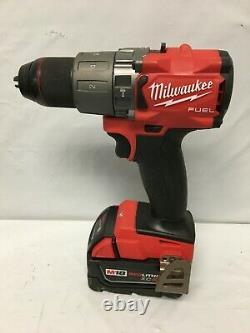 Milwaukee 2804-22 M18 Fuel 1⁄2 Kit Sans Pinceau Pour Perceuse/conducteur De Marteau Ln