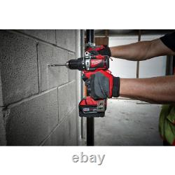Milwaukee 2893-22cx M18 Hammer Drill Sans Brosse Et Impact Combo Kit 2893-22cx