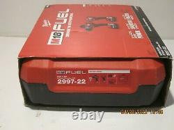 Milwaukee 2997-22 M18 Fuel 18v 2 Outils Hammer Dril/impact Combo Kit Nsb F/ship